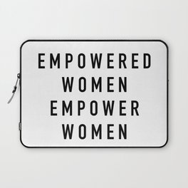 Empowered Women Laptop Sleeve