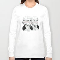 john green Long Sleeve T-shirts featuring John Watson by Cécile Pellerin