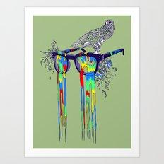 Technicolor Vision Art Print