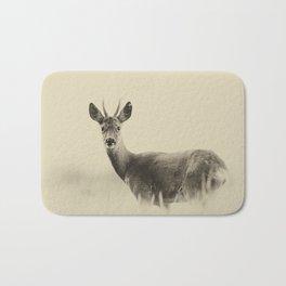 Vintage Roe Deer Bath Mat