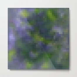 Violet , geometric , abstract Metal Print