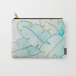 Tropical Watercolors Carry-All Pouch