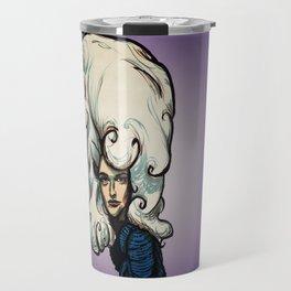 Marshmallow Hair Travel Mug