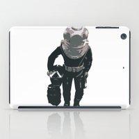 scuba iPad Cases featuring Scuba Diver by Jentfah