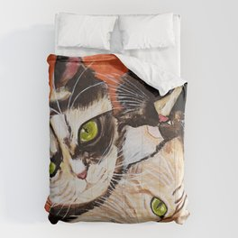 Bonnie, Clyde and Chiara Comforters