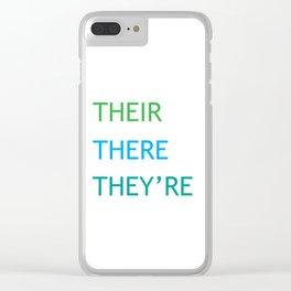 Grammar I Clear iPhone Case
