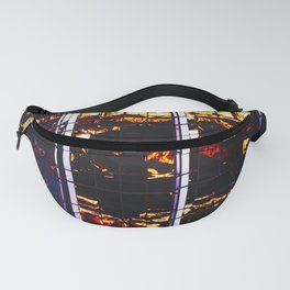 Voyeuristic 0226 Vancouver Cityscape Financial Reflections Fanny Pack