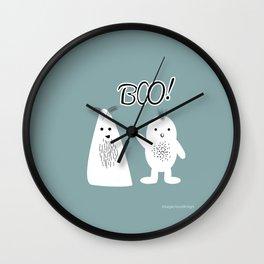 Boo! Funny Ghosts Wall Clock