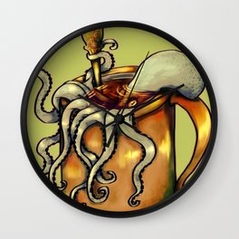 Octocup Wall Clock