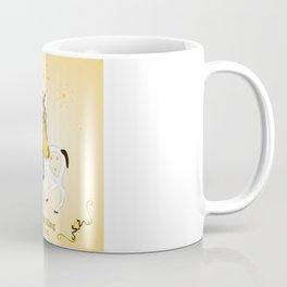 The Oak King and his steed Acorn Coffee Mug
