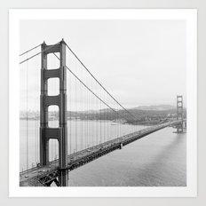 Golden Gate Lookout No. 1 Art Print