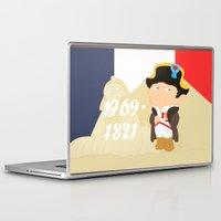 napoleon Laptop & iPad Skins featuring Napoleon Bonaparte by Alapapaju