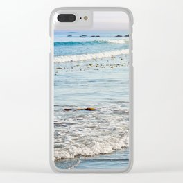 Summer Sea Clear iPhone Case