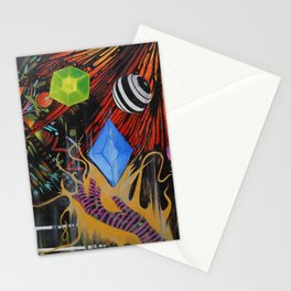 Into Infinity Stationery Cards