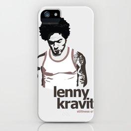 LENNY KRAVITZ - PORTRAIT II iPhone Case