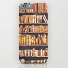 Books, books, books iPhone Case