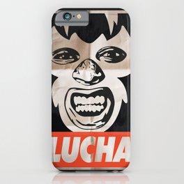 Lucha iPhone Case