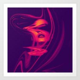 Distorsion Art Print
