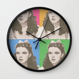 Judy Garland x 4 Wall Clock