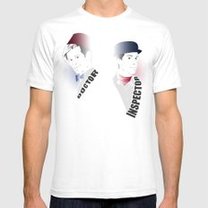 Time Travelers Mens Fitted Tee White SMALL