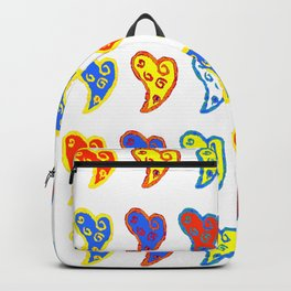 Colorful love in a colorful life Backpack