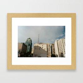 Los Angeles Buildings Framed Art Print