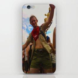 Bonnaroovian Dancing Man iPhone Skin