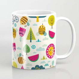 Summer and Bees Coffee Mug