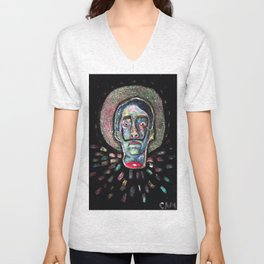 Decapitated Dali Unisex V-Neck