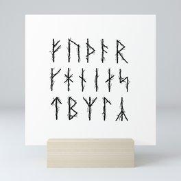 Futhark I Mini Art Print