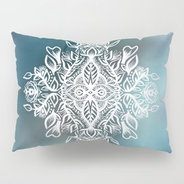 White Design Pillow Sham