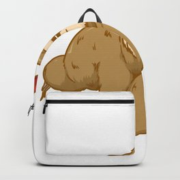 grill barbeque sloth Backpack
