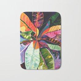 Kauai Croton Leaves Bath Mat