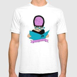 A zine as weird as you are - cream. T-shirt