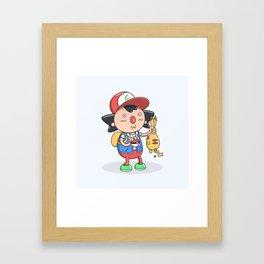 Gotta get a job! Framed Art Print