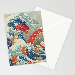The Great Red Wave I Stationery Cards