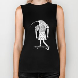 EGYPTiAN GODZ  ~ THOTH Biker Tank