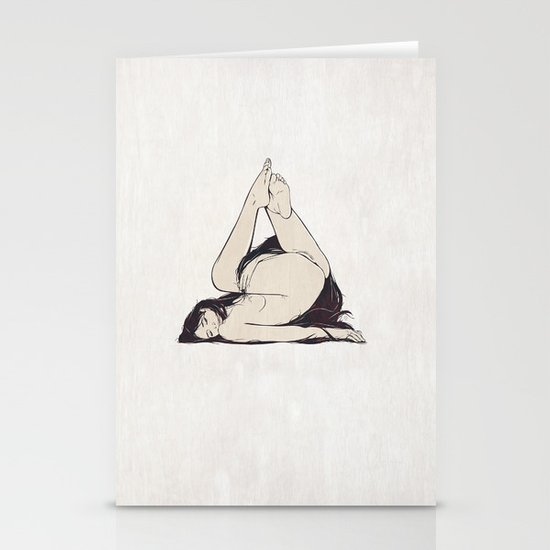 My Simple Figures: The Triangle Stationery Cards