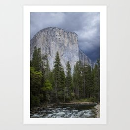 Yosemite National Park, El Capitan, Yosemite Photography, Yosemite Wall Art Art Print