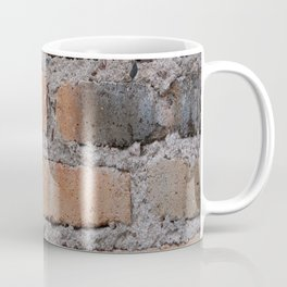 Aged Brick Wall rustic decor Coffee Mug