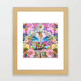 Play House Framed Art Print