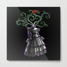 Gothic Dress Metal Print