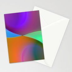 a towel full of colors -10- Stationery Cards