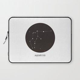 Aquarius Star Constellation Laptop Sleeve