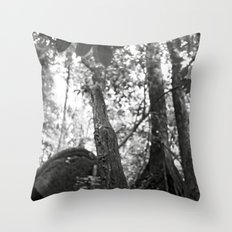 Umbilical Throw Pillow