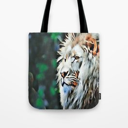 The lion jungle Tote Bag