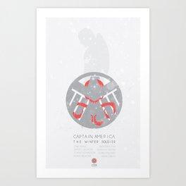 Cap 2 - minimal poster Art Print
