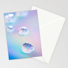 droplets*blue Stationery Cards