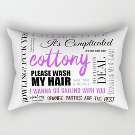 Steal My Breath Rectangular Pillow
