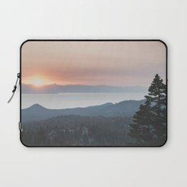 Mountain Top View Laptop Sleeve